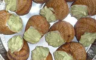 Escargot à la bourguignonne produits locaux boulogne sur mer Choquel